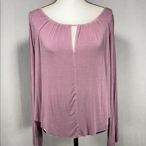 American Eagle Soft & Sexy Bell sleeve tee M